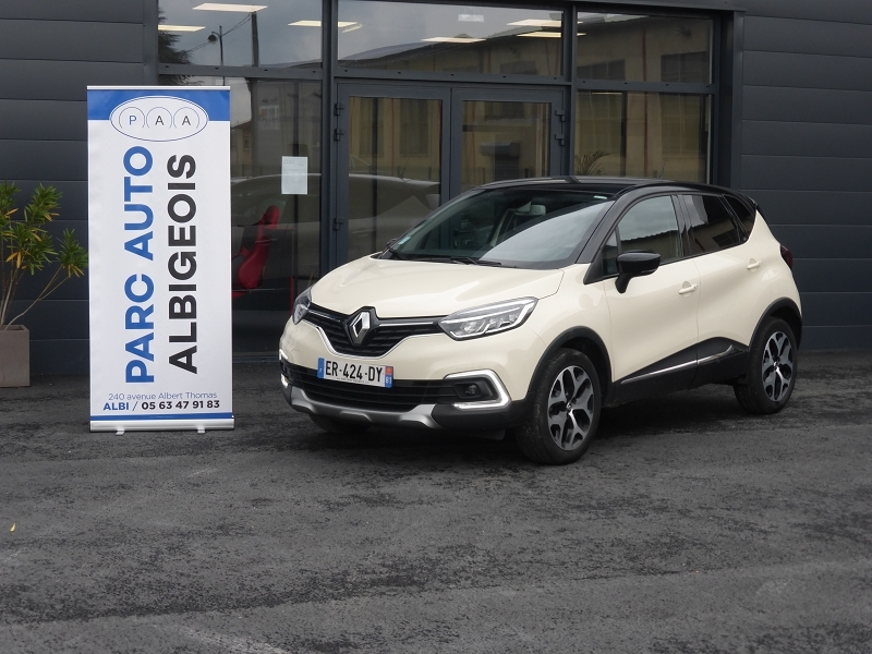 Renault CAPTUR 0.9 TCE 90CH ENERGY INTENS Essence BLANC Occasion à vendre