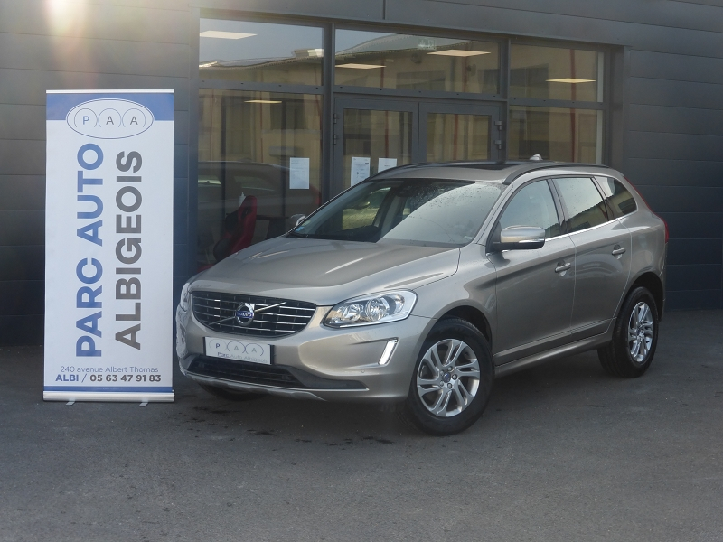 Volvo XC60 D4 190CH MOMENTUM BUSINESS GEARTRONIC Diesel GRIS F Occasion à vendre