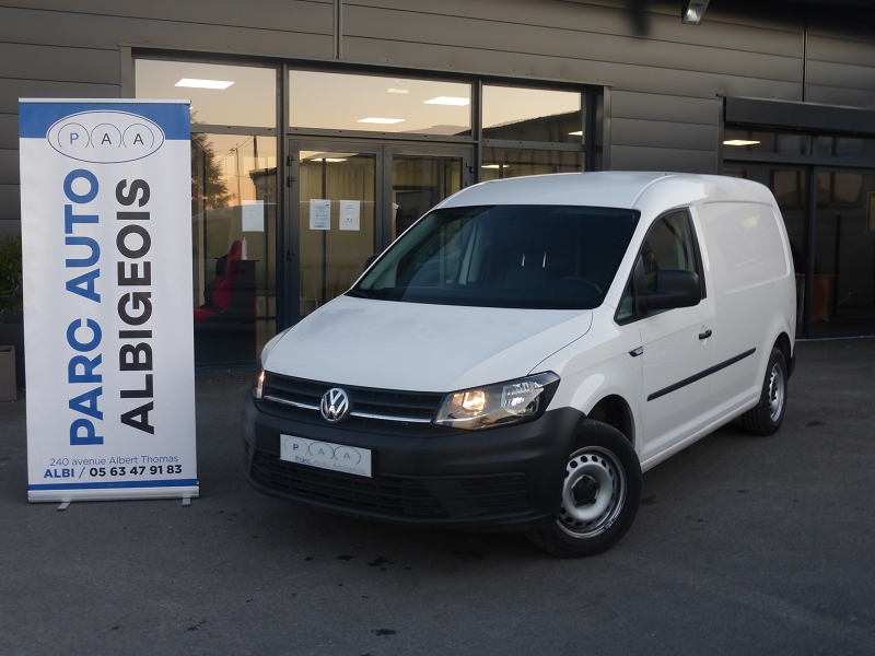 Volkswagen CADDY VAN MAXI 2.0 TDI 102CH BUSINESS LINE Diesel BLANC Occasion à vendre